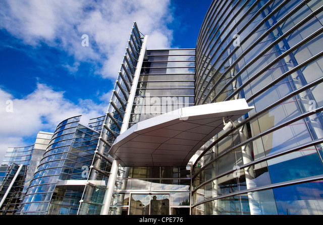 Christchurch Art Gallery, Christchurch, South Island, New Zealand, Pacific - Stock Image