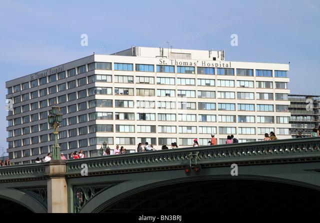 St. Thomas' Hospital, London, England - Stock Image