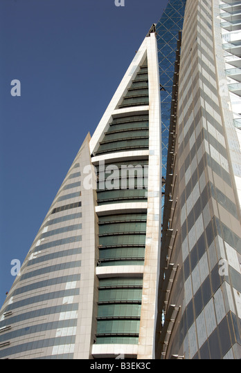 World Trade Centre Manama Bahrain - Stock Image