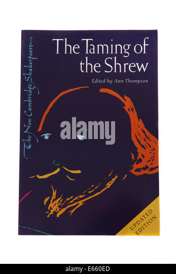 an analysis of the taming of the shrew a play by william shakespeare Transcript of taming of the shrew introduction themes & motifs background characters the plot structure & language by william shakespeare the taming of the shrew the most influential writer in all of women maintain voice and strength throughout the play renaissance 'shrew' stories.