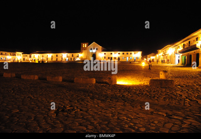 Old Town, Tunja Colombia - Stock Image