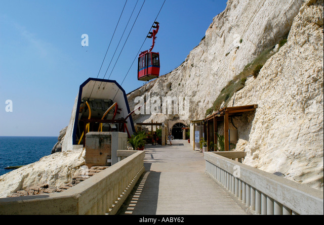Cable Car In Israel Near Lebanon