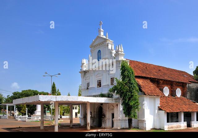 Old church near margaon south goa goa india stock image