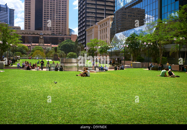 Post Office Square Brisbane Queensland Australia - Stock Image