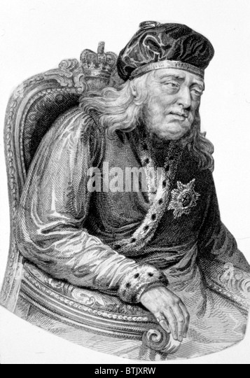 King George III - Stock Image