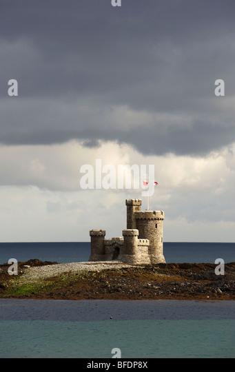 Tower Of Refuge Douglas Isle Of Man - Stock Image