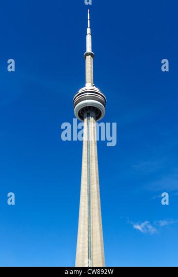 The CN Tower, Toronto, Ontario, Canada - Stock Image