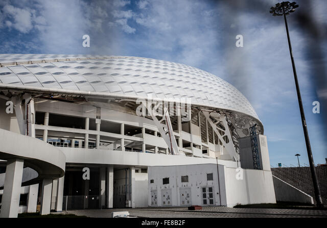 Olympic stadium, Sochi - Stock Image