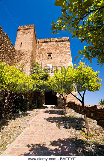 Alcazaba, Malaga, Andalucia, Spain. - Stock-Bilder