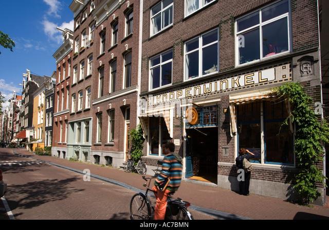 Amsterdam Knopenwinkel knop shop - Stock Image