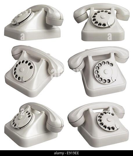 Rotary Telephones - Stock Image