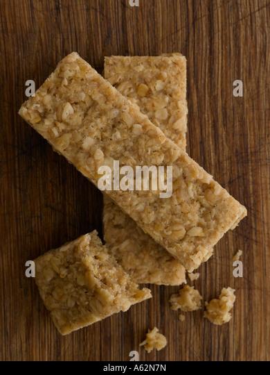Flapjacks shot with professional medium format digital - Stock Image