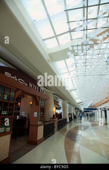 Norman Y. Mineta San Jose International Airport, San Jose, CA - Stock Image