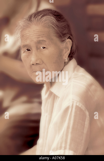 Village, Hat, Horizontal, Looking At Camera, Outdoors, 70's, Asia, Front View, Head And Shoulders, Serious, - Stock-Bilder
