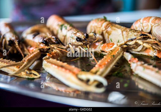 Delicious Tasty Sea food ! - Stock Image