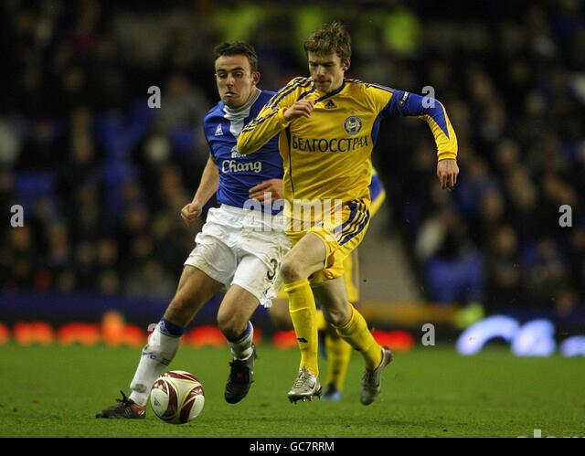 Soccer - UEFA Europa League - Group I - Everton v FC BATE Borisov - Goodison Park - Stock Image
