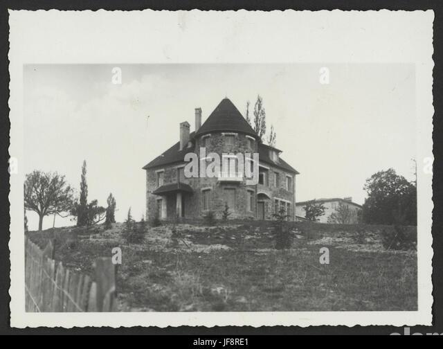 Maison bourgeoise de la Drôme 34554034482 o - Stock Image