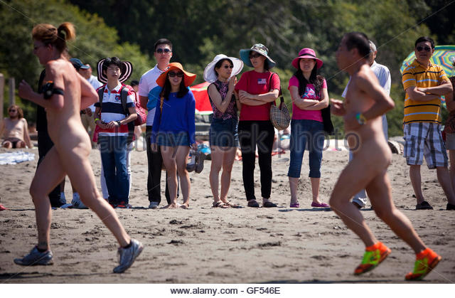 Wreck beach bare buns run are absolutely
