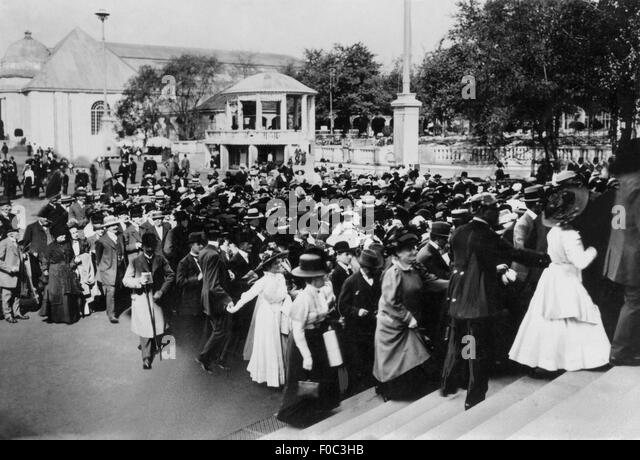 International Hygiene Exhibition, 1911 - Stock Image