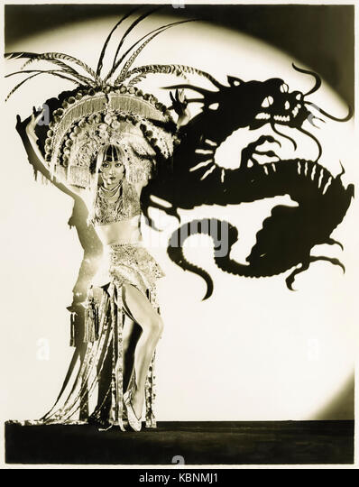 Anna May Wong (1905-1961), the original Dragon Lady (a derogatory stereotypical East Asian sly and deceitful lady); - Stock Image