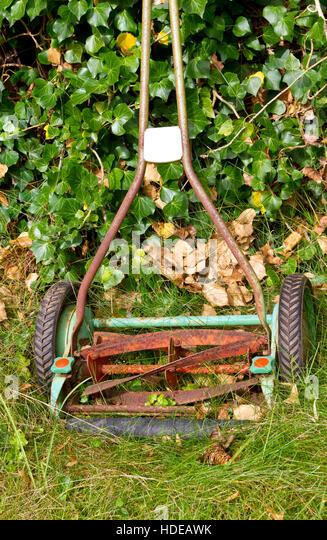 Vintage Lawn Mower Stock Photos Amp Vintage Lawn Mower Stock