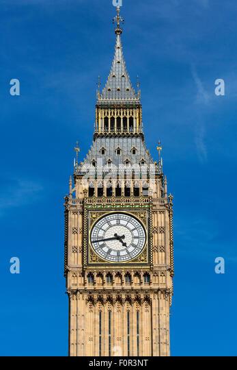 London, Big Ben - Stock Image