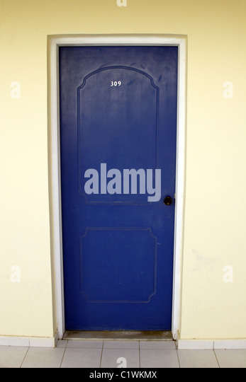 Hotel exterior door stock photos hotel exterior door for Door 00 seatac airport