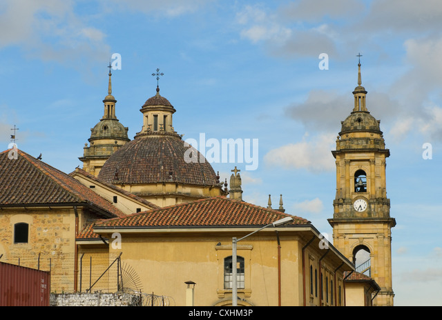 Primate Cathedral, Bogota, Colombia - Stock Image
