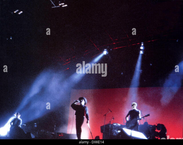 U2: RATTLE AND HUM - Stock Image