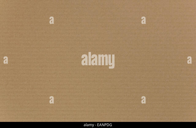 Cardboard background with ridged Texture detail - Stock Image
