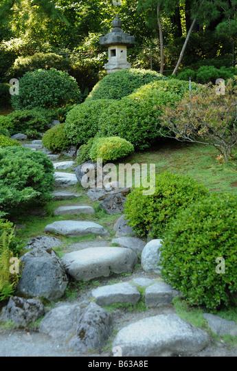 Japanese Garden Painting Stock Photos Japanese Garden