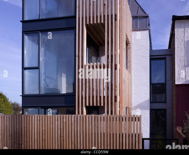 Timber Cladding Detail Stock Photos Amp Timber Cladding