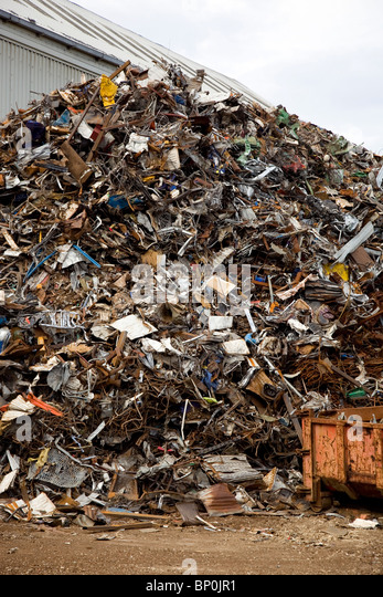 Scrap metal - Stock Image