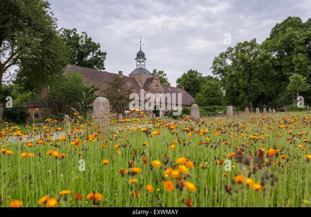 Gut Perdoel, Schleswig-Holstein, Germany - Stock Image