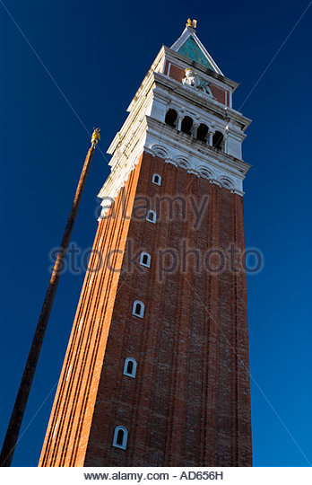 The Campanile, Venice, Italy - Stock-Bilder