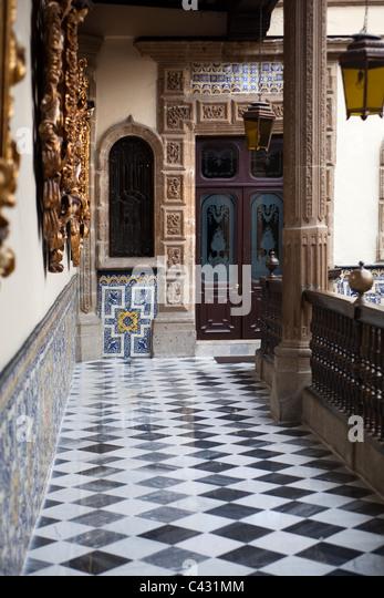 Azulejos tiles stock photos azulejos tiles stock images for House of tiles mexico city