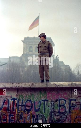Maueroeffnung, Berlin - Stock Image