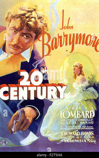 Twentieth Century - Movie Poster - Stock Image
