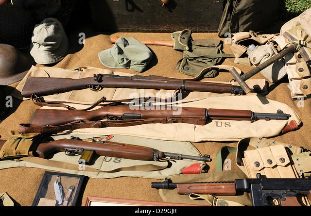 World War Ii Weapons - Stock Image