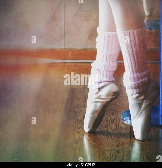 Ballet practice - Stock-Bilder