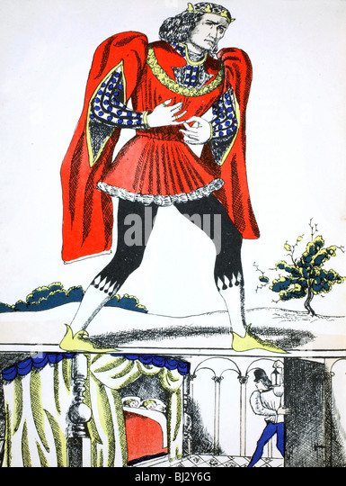 Richard III, King of England from 1483, (1932). Artist: Rosalind Thornycroft - Stock Image