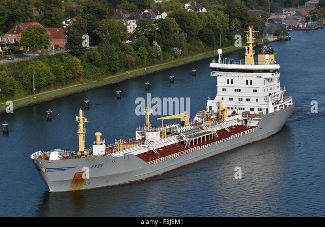 Oil Products Tanker Eken - Stock Image