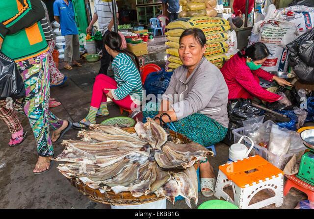 Fish markets vietnam stock photos fish markets vietnam for River fish market