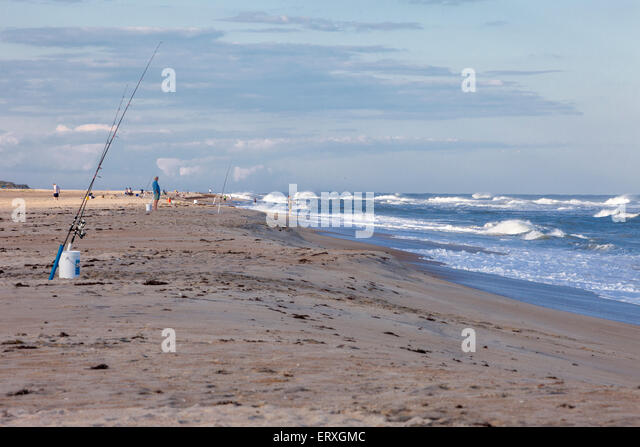 North carolina fishing stock photos north carolina for Fishing outer banks nc