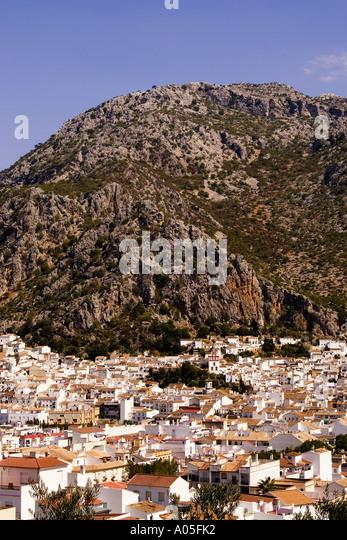 Spain Andalucia pueblo blanco Grazalema - Stock Image