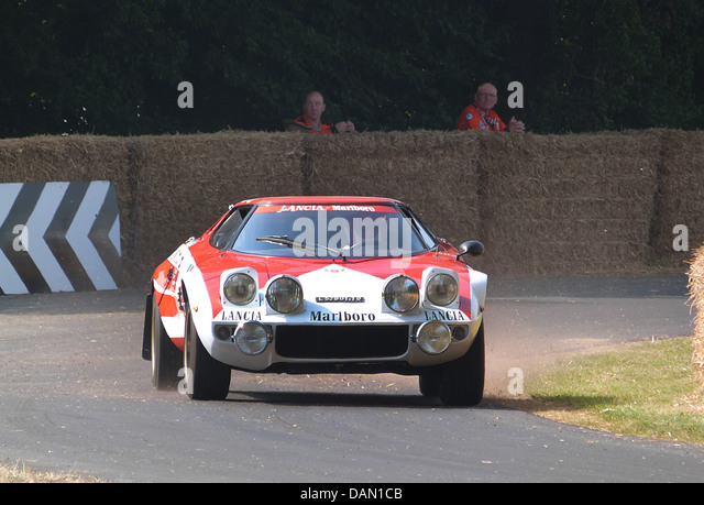 Lancia Stratos at Goodwood Festival of Speed 2013 - Stock Image