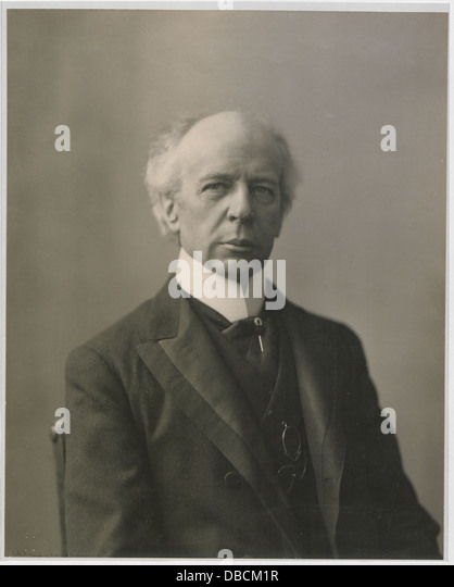 The Honourable Sir Wilfrid Laurier Photo B (HS85-10-16872) - Stock Image