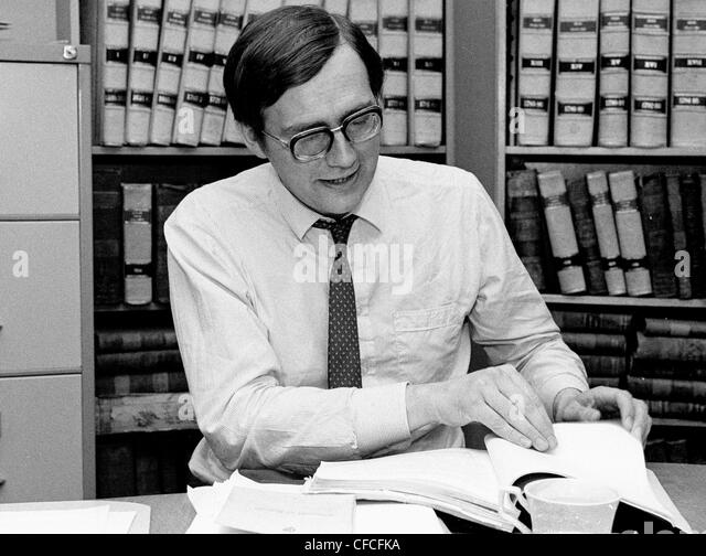 An early photograph of Professor William Binchy - Trinity College, Dublin Ireland - Stock Image
