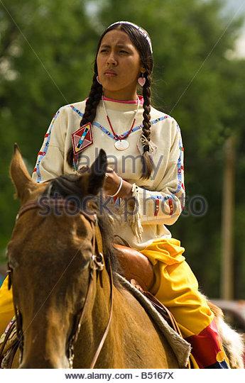 Native americans montana stock photos native americans for Native agency