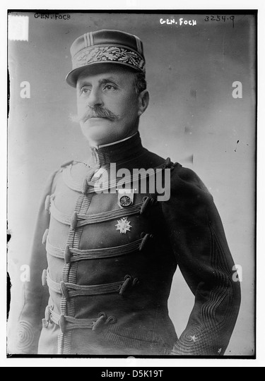 Gen. Foch (LOC) - Stock Image